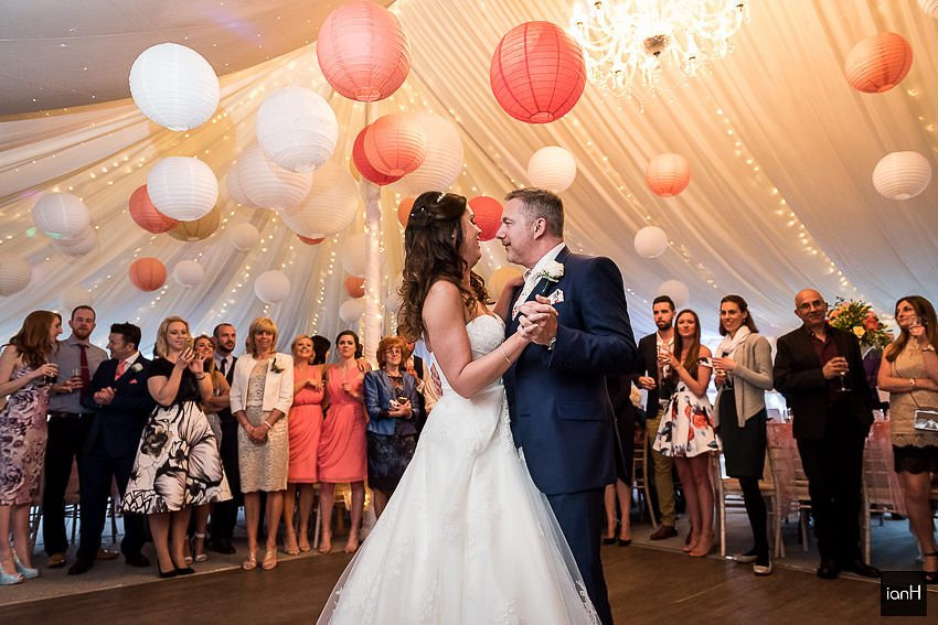First Dance at a Parley Manor wedding