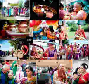 Beautiful Studland and Hindu weddings