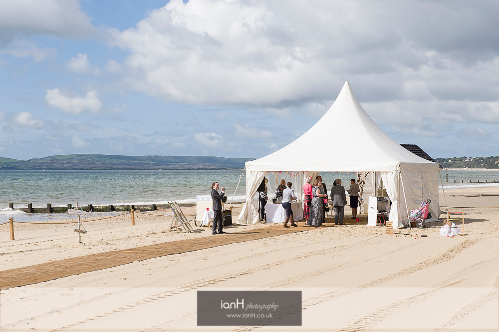 Beach Weddings Bournemouth fun wedding-1