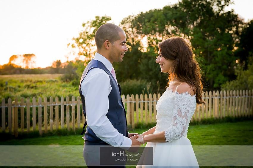 Summer Sopley Mill wedding