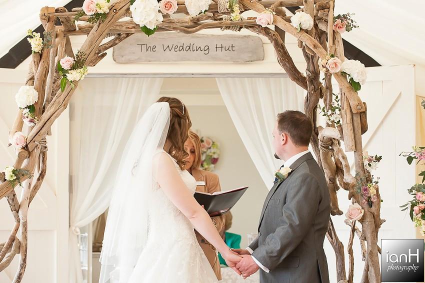 Lucy and Wayne - Beach Weddings Bournemouth ceremony
