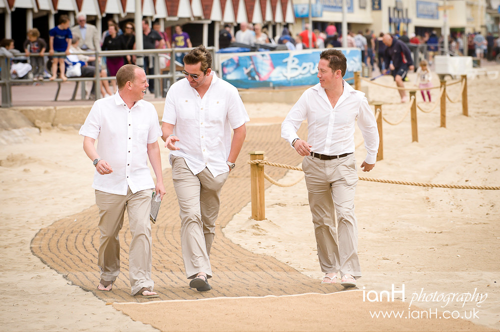 Groom_and_best_man_approach_the_wedding_on_Bournemouth_beach