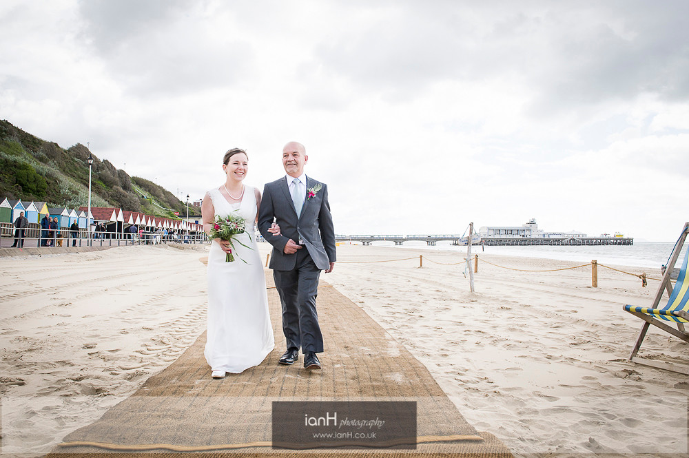 Beach Weddings Bournemouth fun wedding-2