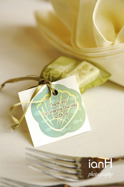 Wedding favours - Highclife Castle