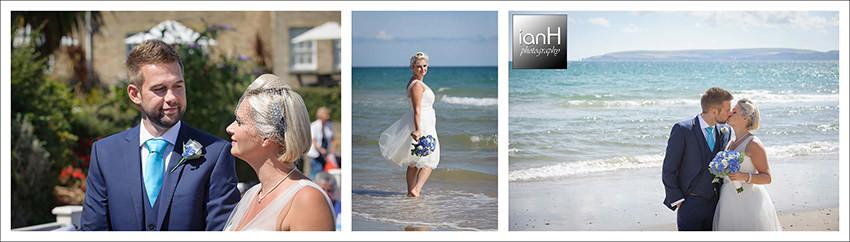 Bournemouth Highcliff Marriott Hotel Summer wedding