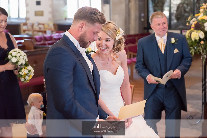 St Mary's Swanage wedding