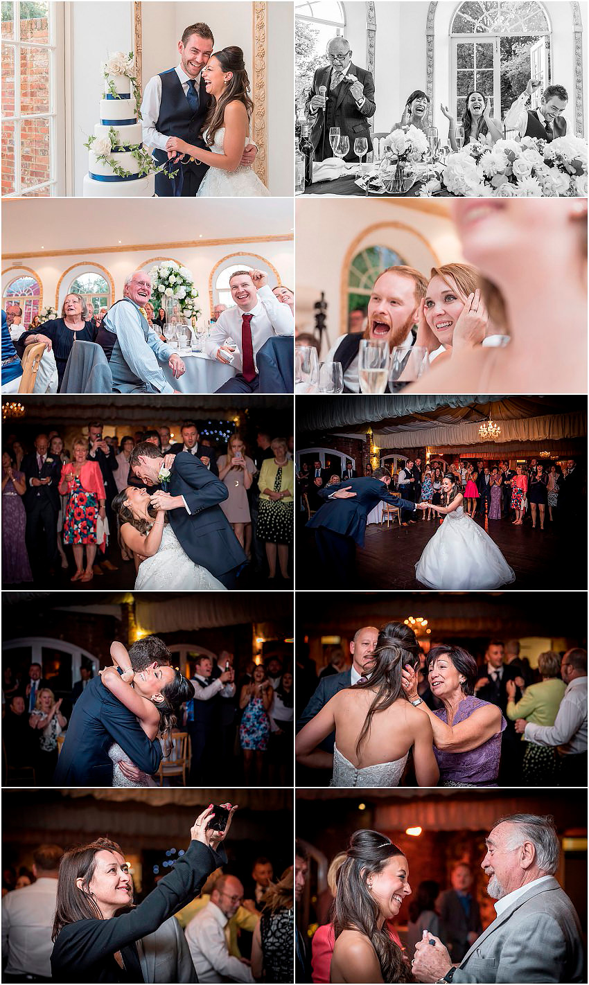 Fun at a Northbrook Park wedding