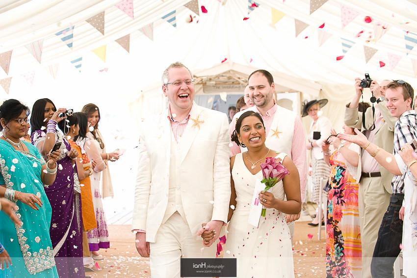 Hindu wedding at Beach Weddings Bournemouth