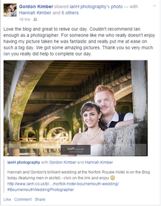 Wedding photography in Bournemouth