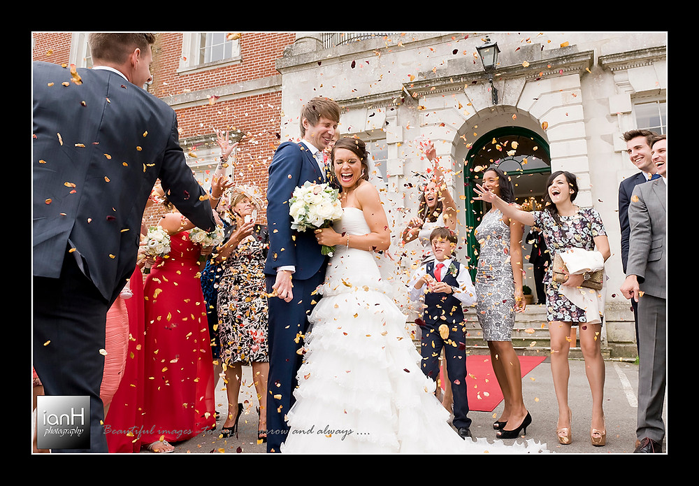 Explosion-of-colour-at-Merley-House-wedding