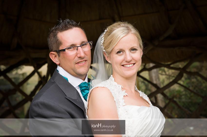 New Forest wedding portrait
