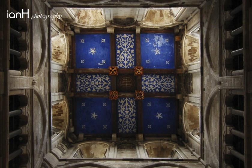 Ceiling-of-wimborne-minster
