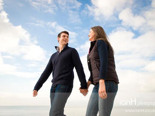 Hampshire eShoot on the beach – Niki and Duncan