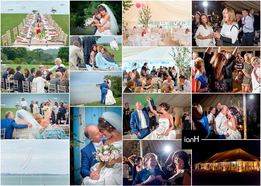 Beautiful Studland wedding