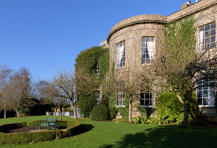 Bishopstrow House wedding venue Wiltshire