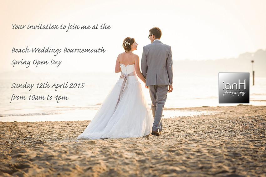 Beach Weddings Bournemouth Spring Open Day