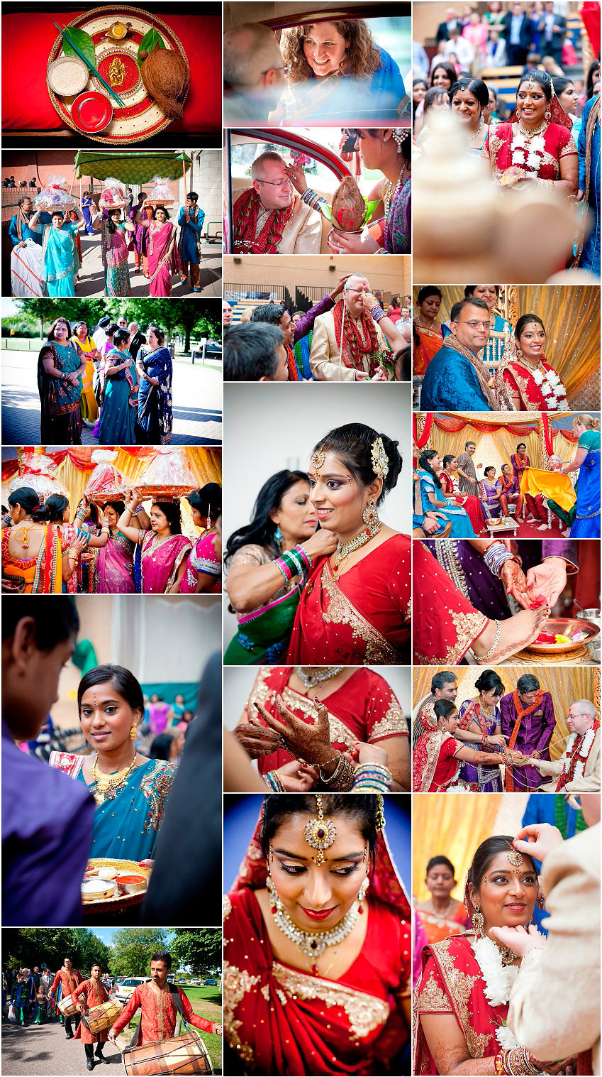 Hindu wedding ceremony in Norfolk