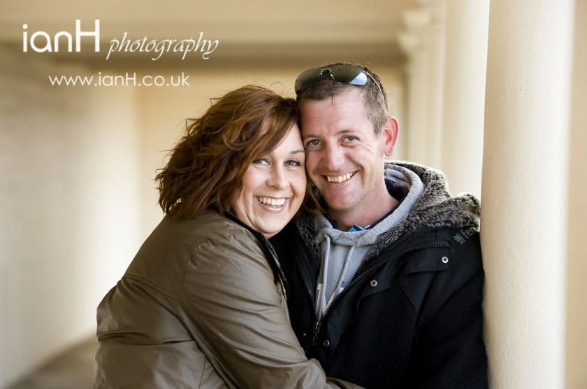 Engagement photographs at Sandbanks Poole - Dorset wedding photographer