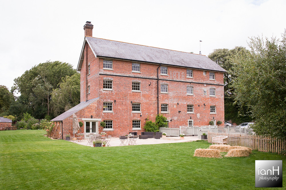 Sopley Mill ready for a Summer Wedding