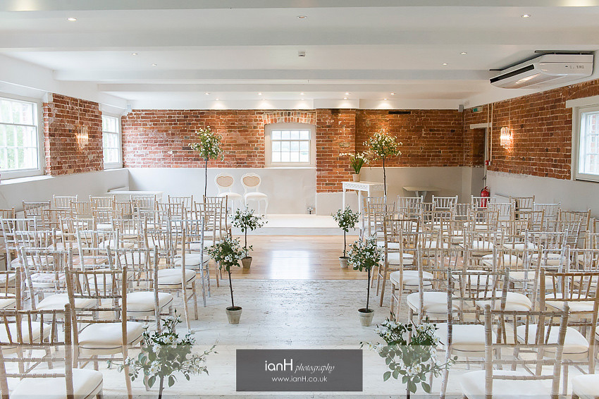 Ceremony room at Sopley Mill