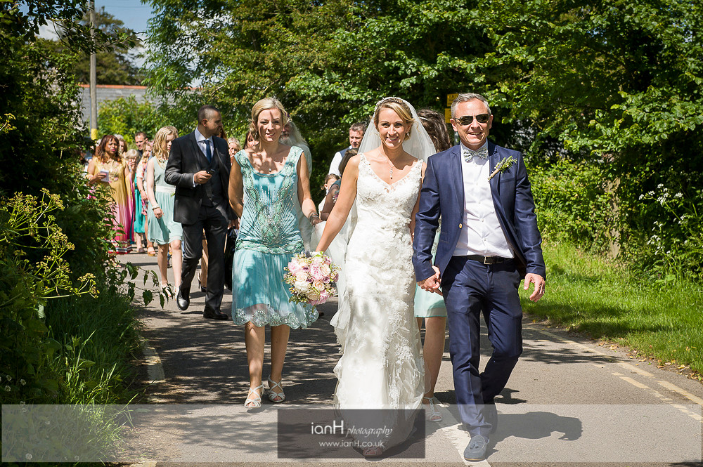 Studland Church Summer wedding-8