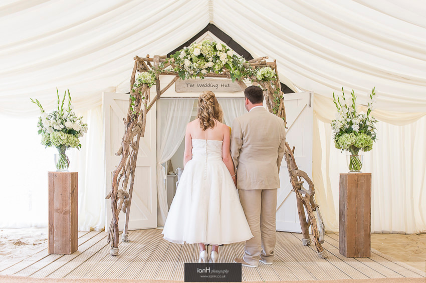 Coule marry at Beach Weddings Bournemouth