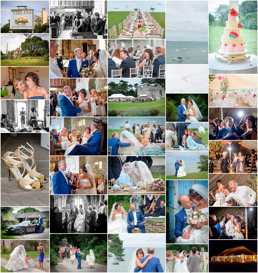 Weddings in Norfolk and Studland