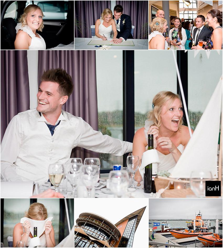 RNLI Poole wedding - Gina and Tom