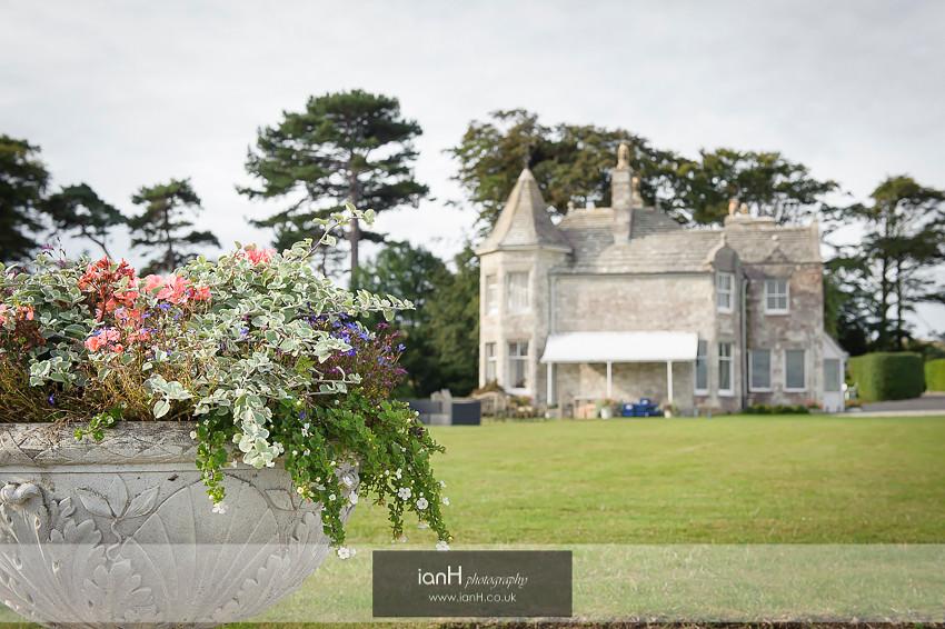 Harry Warren House - Studland wedding