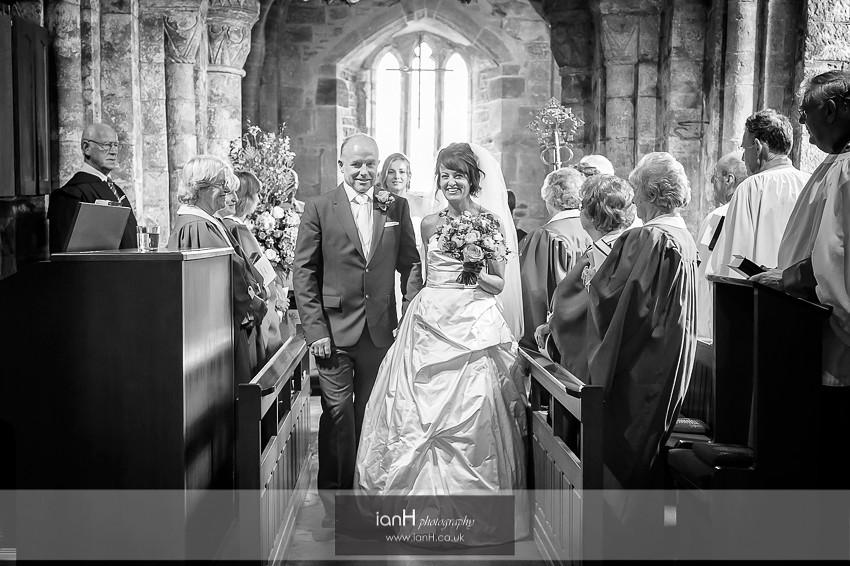 Wedding at St. Nicholas Church Studland
