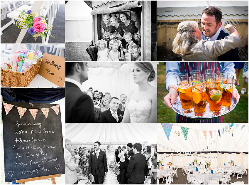 Hampshire country wedding