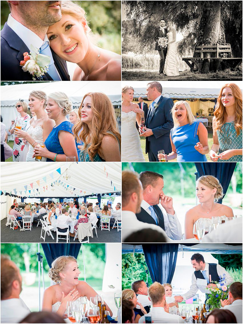 Charming Hampshire country wedding