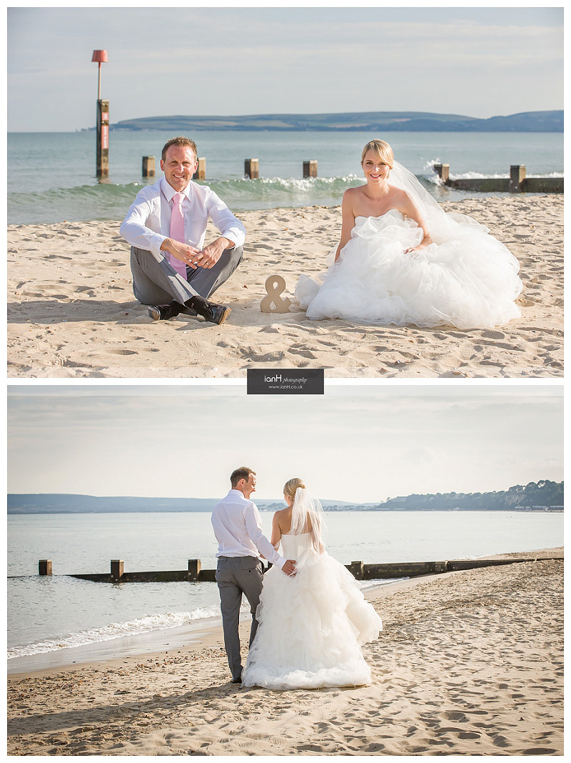 Beach Weddings Bournemouth romance