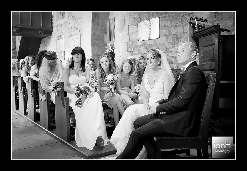 Studland church wedding at St Nicholas Church