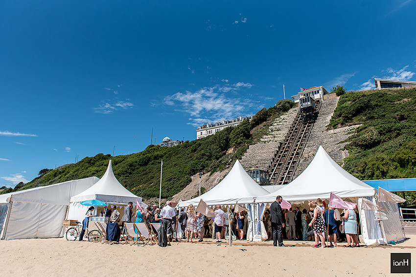 Beach Weddings Bournemouth - Sarah and Dan