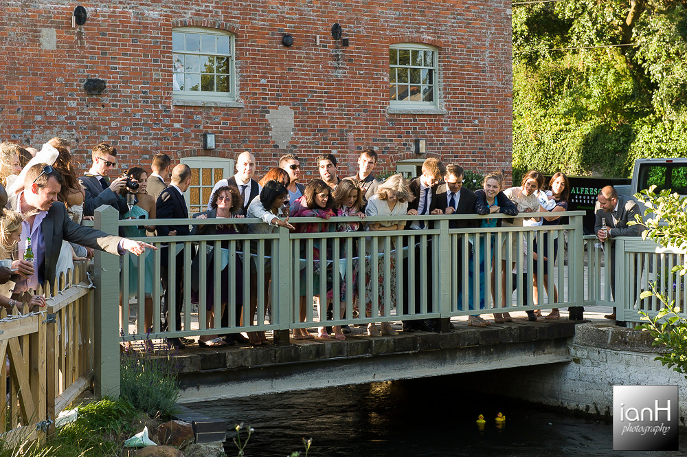 Sopley Mill duck race