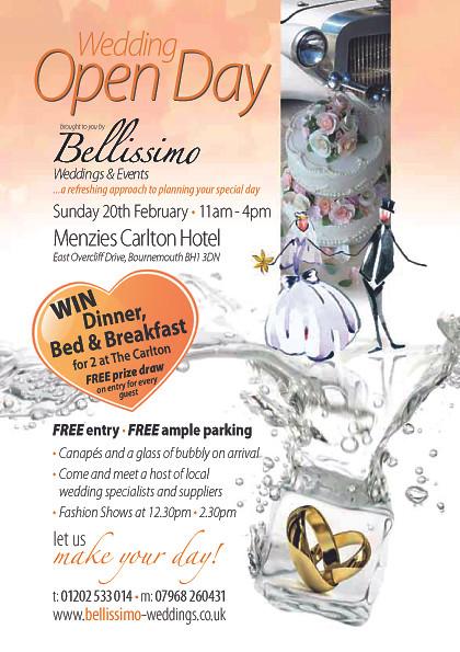 Dorset wedding show Carlton Hotel Bournemouth