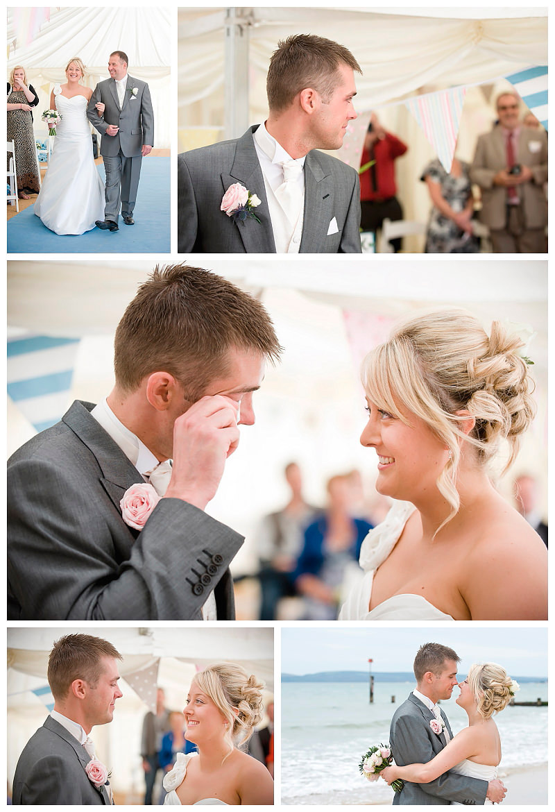 Beach Weddings Bournemouth - Amy and Kevin