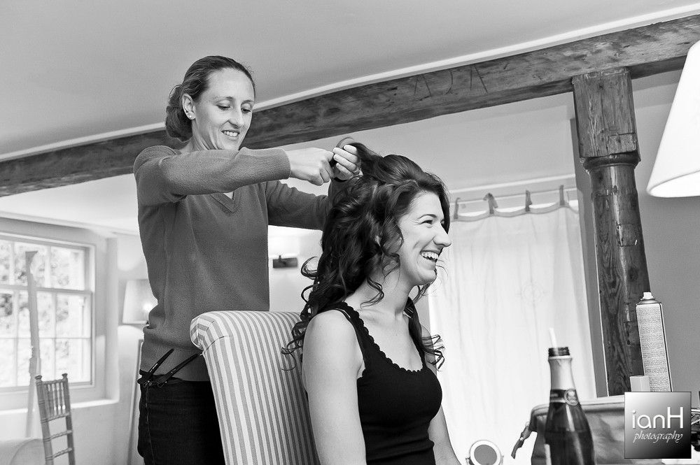Bridal hair - Sopley Mill Summer Wedding