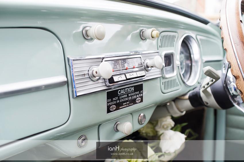 1965 VW Beetle dashboard