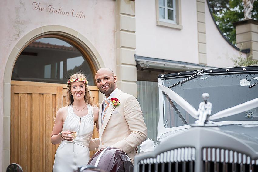 Italian Villa wedding anniversary