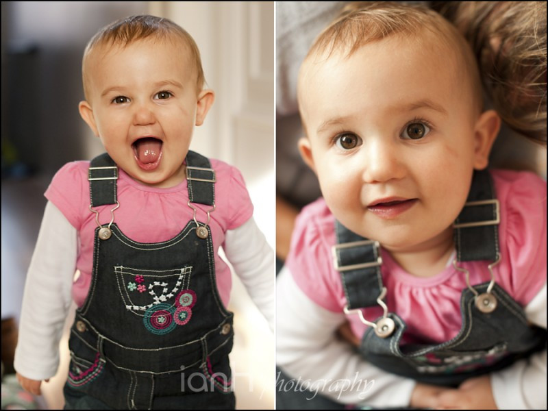 Recent baby portrait photography session in Bournemouth