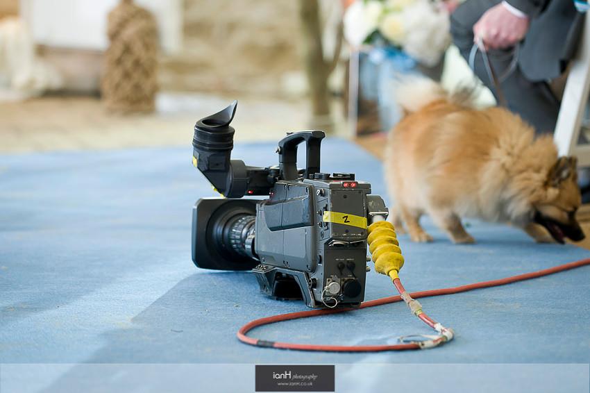 TV camears at Beach Weddings Bournemouth