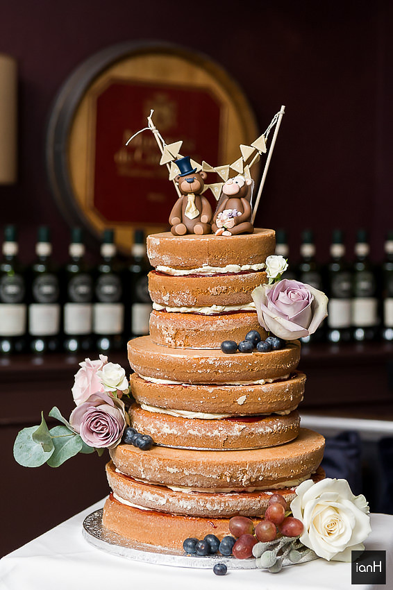 Wedding cake at Hotel du Vin Poole