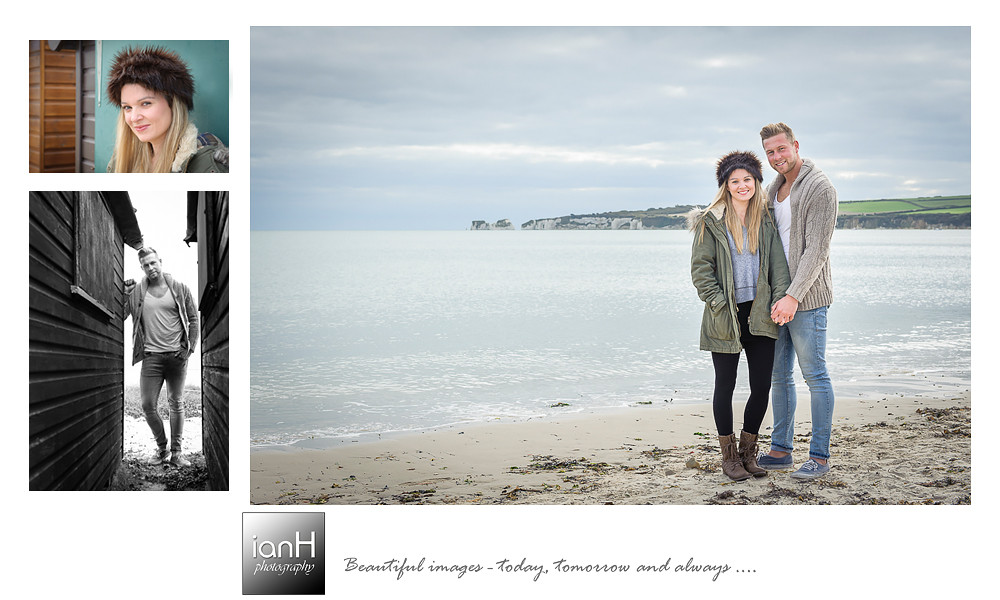 Studland pre-wedding shoot - Dorset wedding photographer