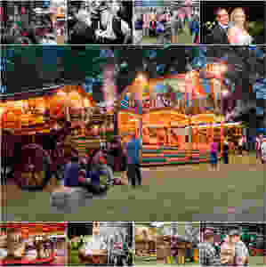 New Forest steam engine wedding