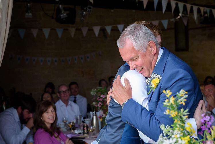 The Groom's hug