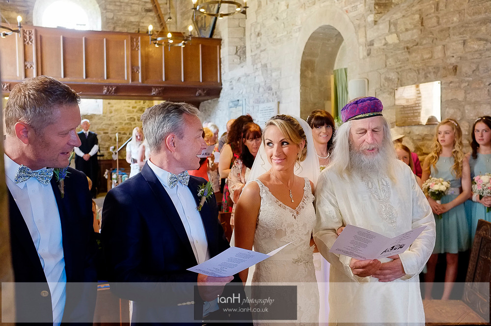 Studland Church Summer wedding-6