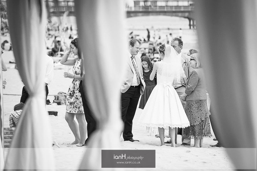 Wedding at Beach Weddings Bournemouth in Summer