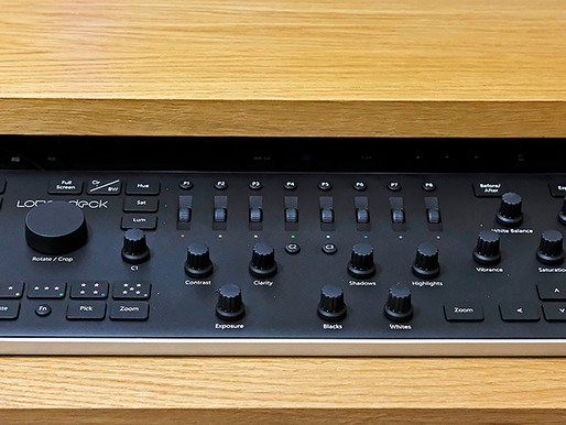 Loupedeck Lightroom Editing Console   Initial review